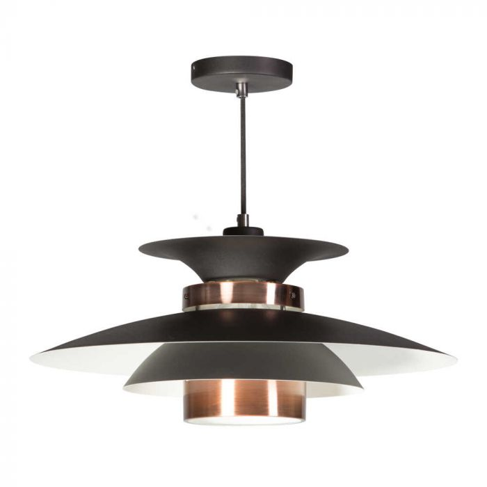 ETH Potenza hanglamp 05-HL4093-05 zwart