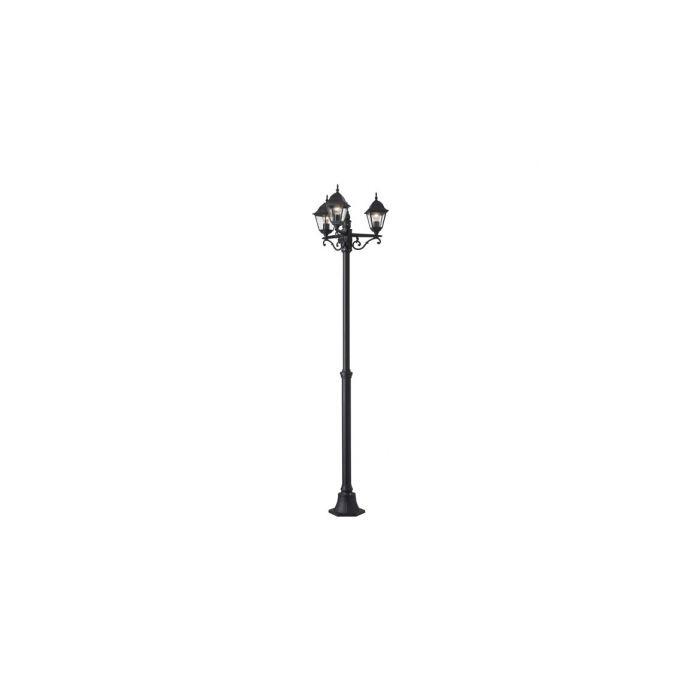 Brilliant Newport 44288/06 lantaarnpaal zwart
