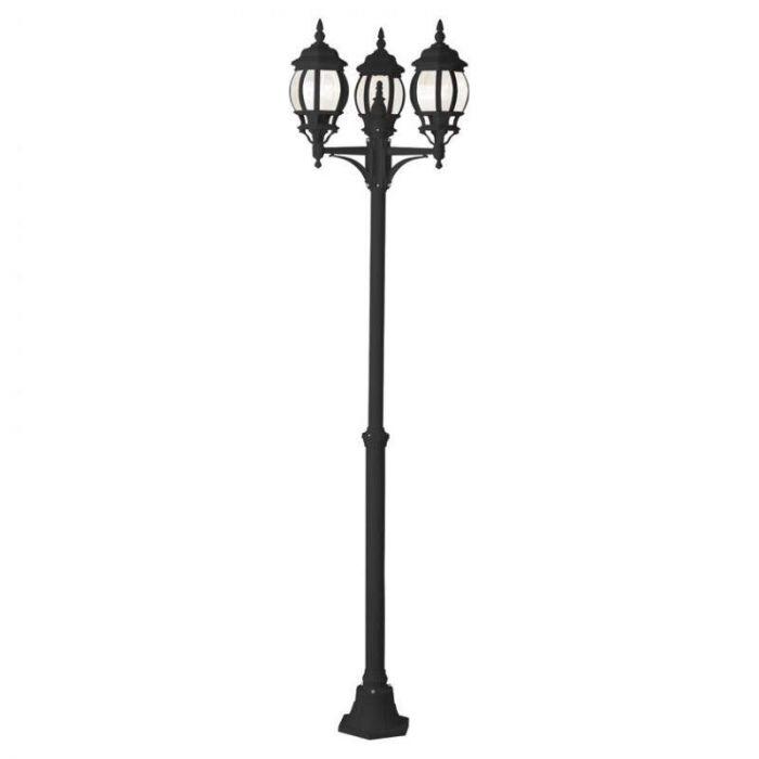 Brilliant Istria 48688/06 lantaarnpaal zwart
