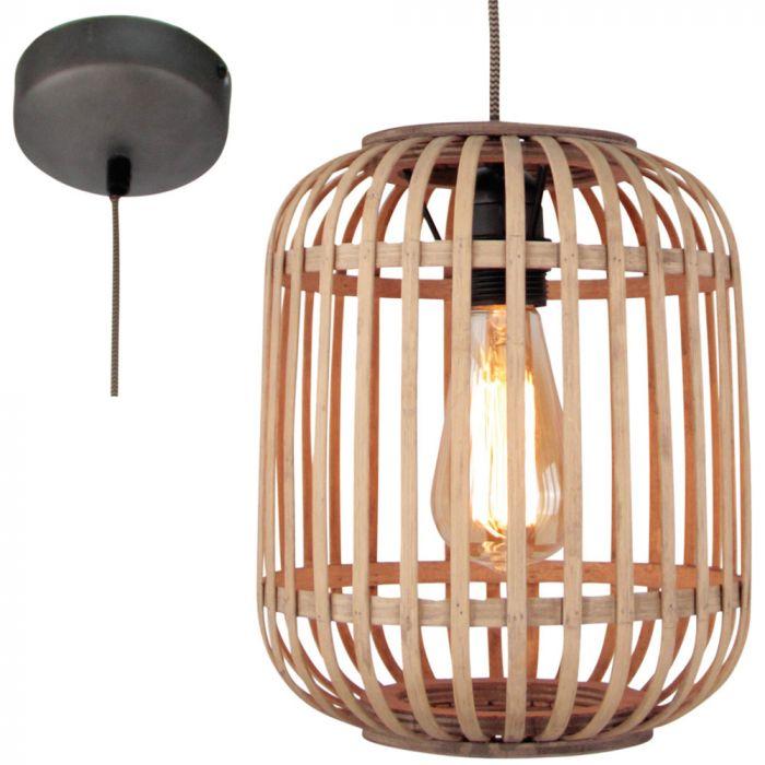 Freelight Malacca H5290Z hanglamp hout