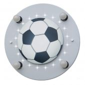 Plafondlamp Voetbal zilver