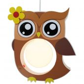 Hanglamp Uil Bruin