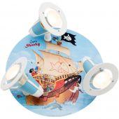 Plafondlamp Capt'n Sharky Op volle zee 30cm