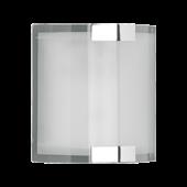 Trio wandlamp serie 2520 wit glas