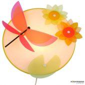 Niermann Libelle 40683 wandlamp multicolor