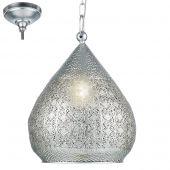Eglo Melilla 49716 hanglamp zilver