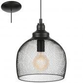 Eglo Straiton 49736 hanglamp zwart