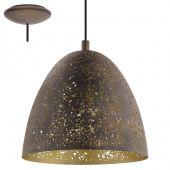 Eglo Safi 49814 hanglamp bruin