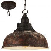 Eglo Grantham 49819 hanglamp bruin