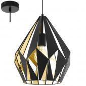 Eglo Carlton 49931 hanglamp goud