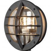 Konstsmide Oden 516-750 wandlamp zwart