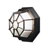 Konstsmide Octagon 7091-750 plafondlamp zwart