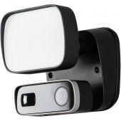 Cameralamp Floodlight zwart 17cm