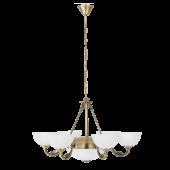Eglo Savoy hanglamp Traditional 82749 brons
