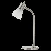 Eglo Prince 1 Tafellamp Basic 86429 nikkel