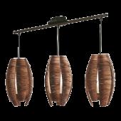 Eglo Mongu hanglamp Trend 91012 bruin
