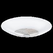 Eglo Ellera plafonnière Style 92713 wit met kristal