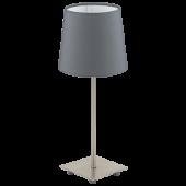 Eglo Lauritz Tafellamp Basic 92881 antraciet