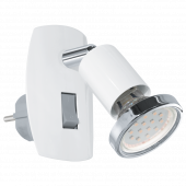 Eglo Mini 4 stekkerlamp 92925 wit
