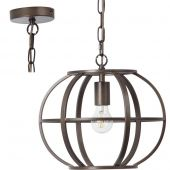 Hanglamp Basia staal 35cm