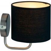 Brilliant Sandra 85010/76 wandlamp zwart
