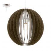 Eglo Cossano 94636 hanglamp bruin