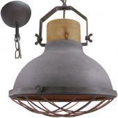 Brilliant Emma 93571/70 hanglamp beton