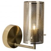 Brilliant Gracian 90060/18 wandlamp messing