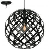Freelight Emma H9540Z hanglamp zwart