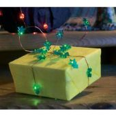 Konstsmide lichtsnoer 20 groene LED boompjes op batterij 1268-900