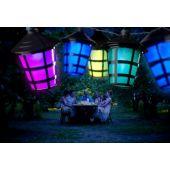 Konstsmide LED partysnoer 20 multicolor lantaarns 4162-500
