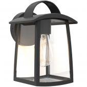 Wandlamp Kelsey zwart 26cm