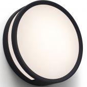 Plafondlamp Rola zwart 18cm