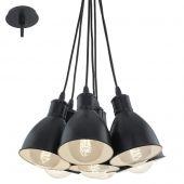 Eglo Priddy 49467 hanglamp zwart