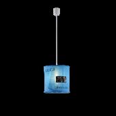 Trio Bag R30221012 lampenkap blauw