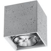 Plafondlamp Valde SOL0646 beton 14cm